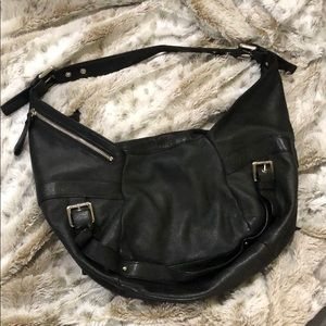 Kenneth Cole New York leather hobo